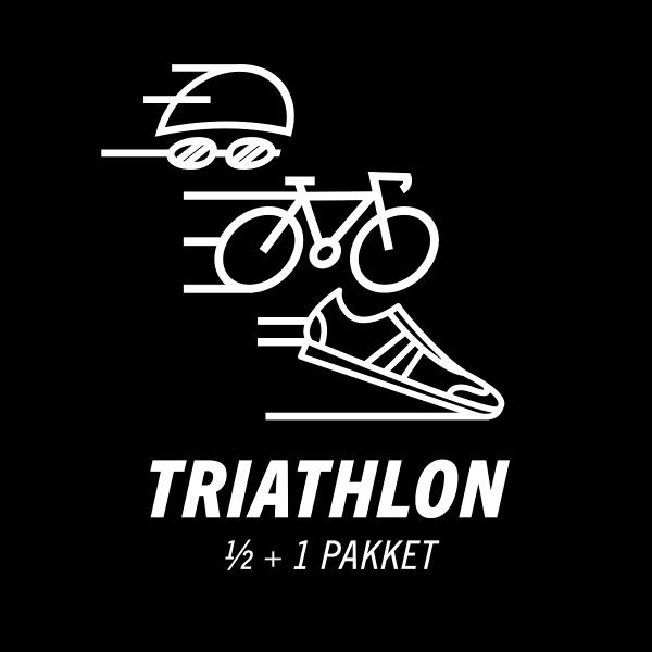 Triathlon 1/2 en 1/1 sportvoeding pakket
