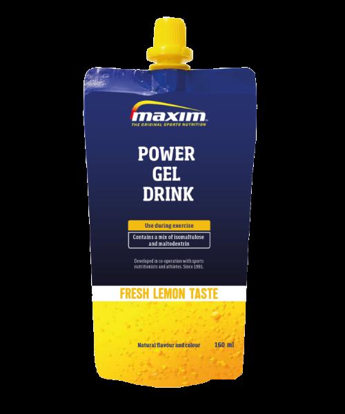 Maxim Power Gel Drink Lemon 160 ml
