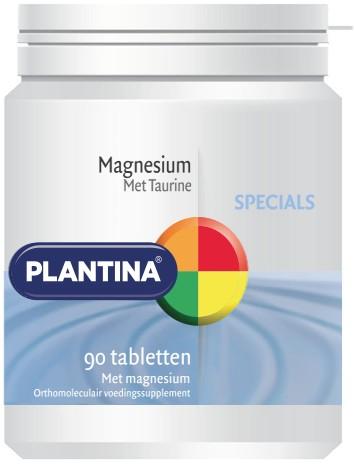 Plantina Magnesium met Taurine 90 tabletten