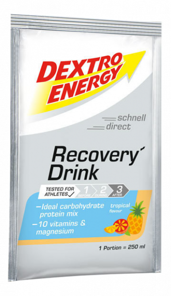 Dextro Energy Recovery Drink Tropical 44,5 gram