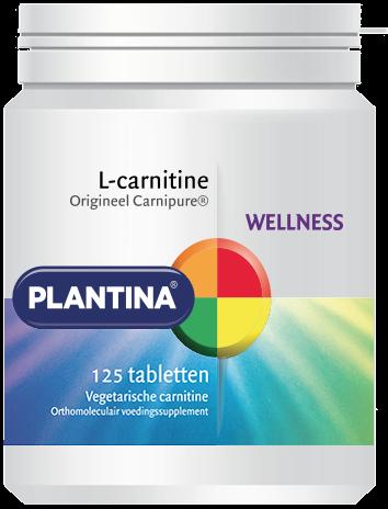 Plantina L-Carnitine 125 tabletten