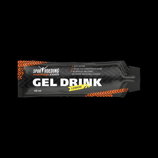 SportvoedingWebshop Gel Drink Lemon Cafeine