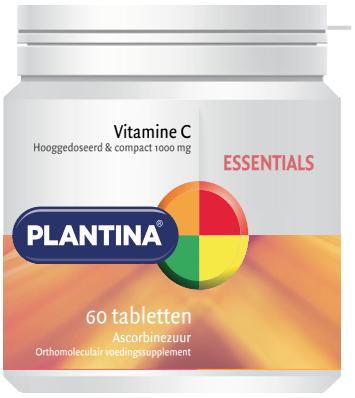 Plantina Vitamine C 60 tabletten