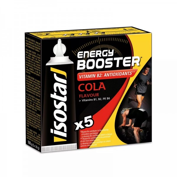 Isostar Energy Booster Cola 5 x 20 gram