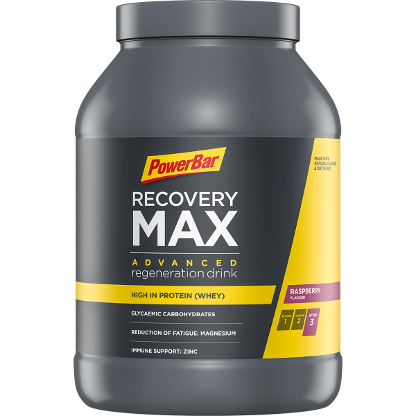 PowerBar Recovery Max Raspberry 1144 gram