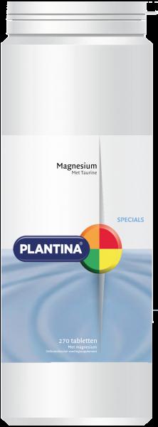 Plantina Magnesium met Taurine 270 tabletten
