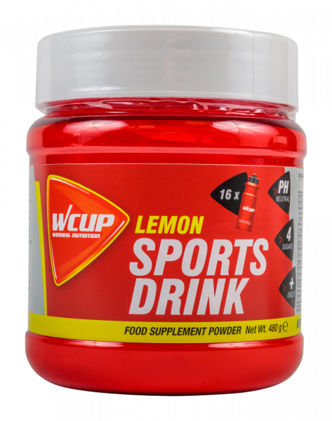Wcup Sports Drink 480 gram