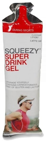 Squeezy Super Drink Gel Lemon Cafeïne 60 ml
