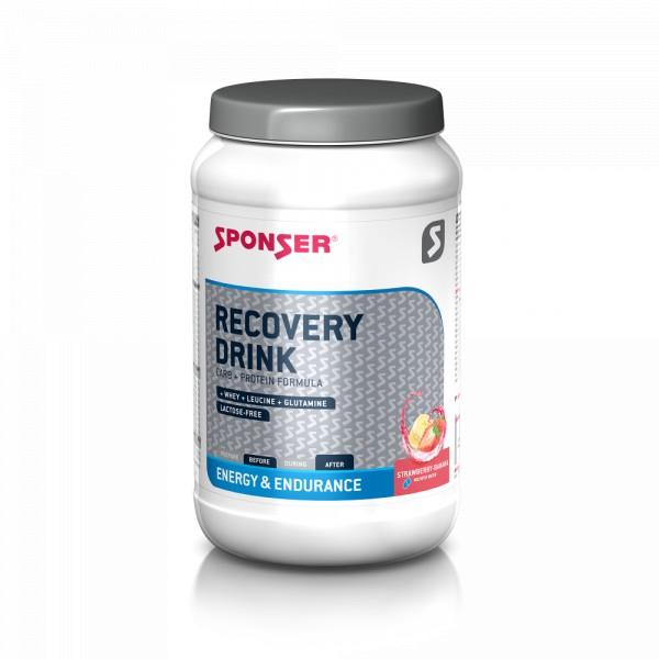 Sponser Recovery Drink Strawberry Banana 1200 gram