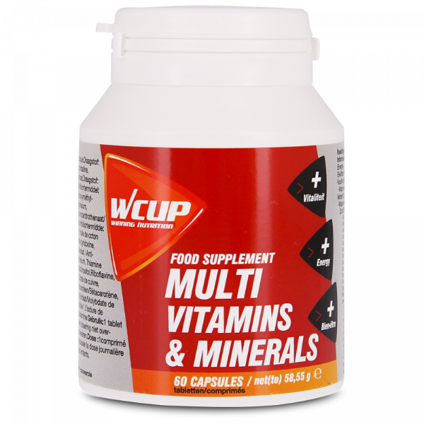 Wcup Multivitamins & Minerals 60 tabletten