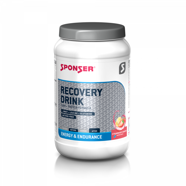 Sponser Recovery Drink Strawberry Banana 1200 gram