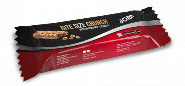 BORN Bitesize Crunch Strawberry 25 gram