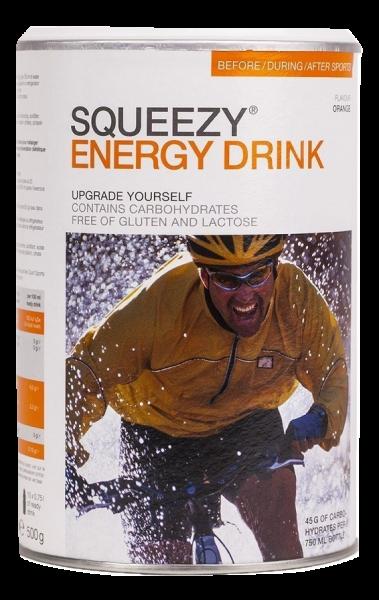 Squeezy Energy Drink 500 gram
