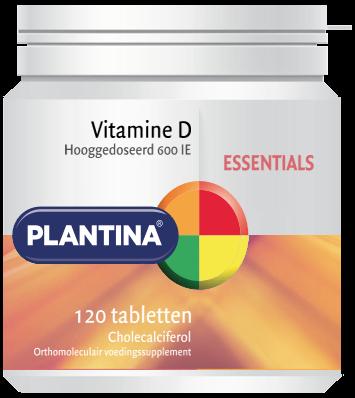Plantina Vitamine D 600 IE (120 tabletten)
